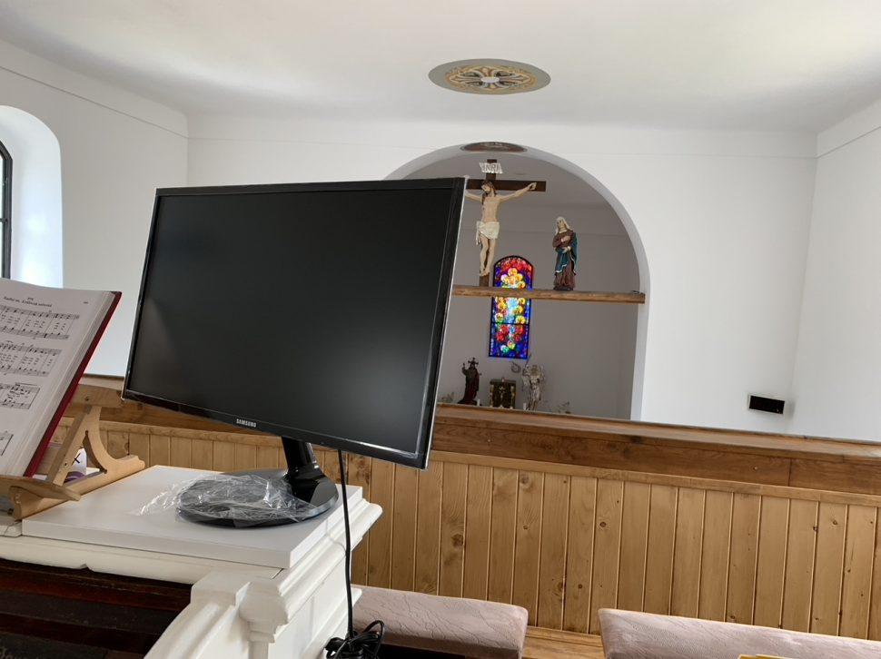 kostol monitor Taphome