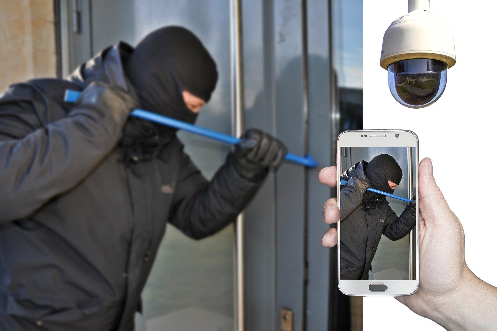 zlodej - ochrana Fibaro