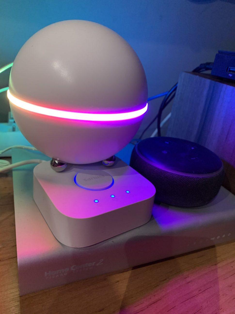 Homey aFibaro smart inštalácia