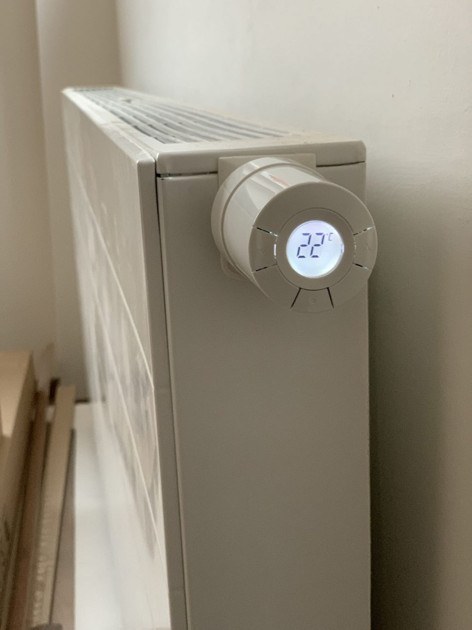 Smart hlavica navykurovanie radiátora POPP